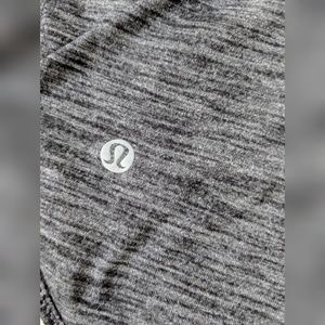 Lululemon | athletic tank | gray/black